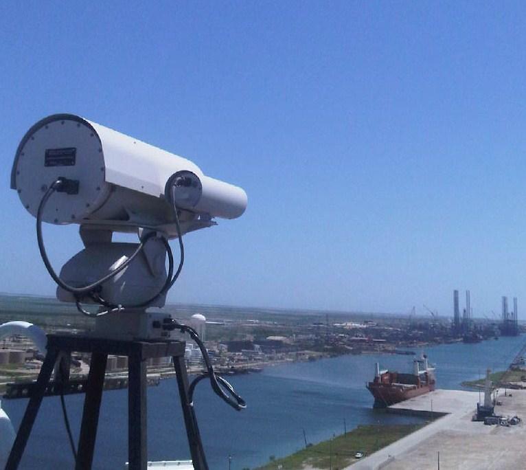 Port Security Harbor Thermal Imaging Pan Tilt Ptz Flir 20 Km